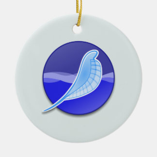 SeaMonkey Logo Ceramic Ornament