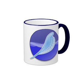 SeaMonkey Logo Ringer Coffee Mug