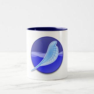 SeaMonkey Logo Two-Tone Coffee Mug