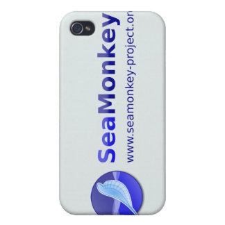 SeaMonkey Project - Horizontal Logo iPhone 4 Cases