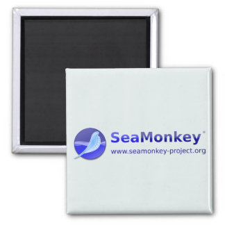 SeaMonkey Project - Horizontal Logo Magnet