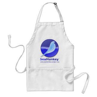 SeaMonkey Project - Vertical Logo Adult Apron