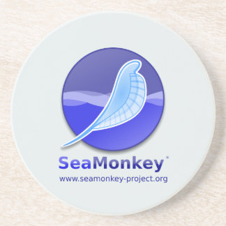SeaMonkey Project - Vertical Logo Coaster