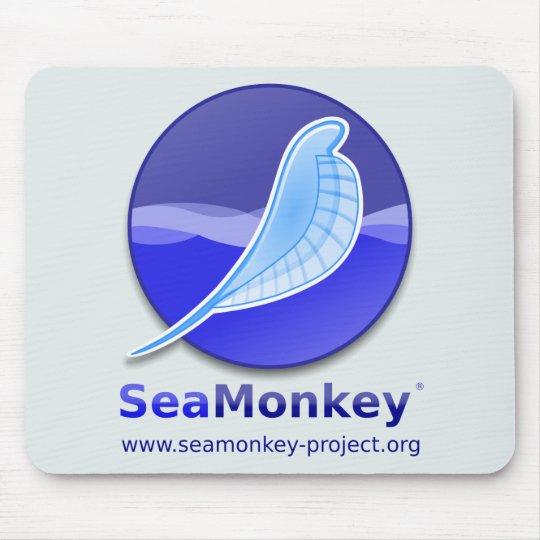 SeaMonkey Project - Vertical Logo Mouse Pad