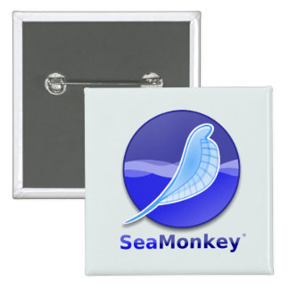 SeaMonkey Text Logo Button