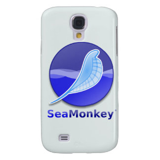 SeaMonkey Text Logo Samsung Galaxy S4 Covers