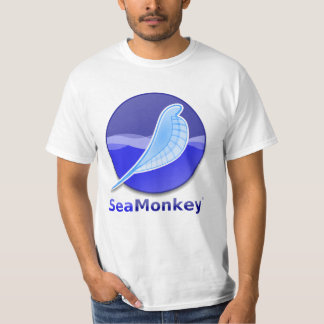 SeaMonkey Text Logo Tee Shirt