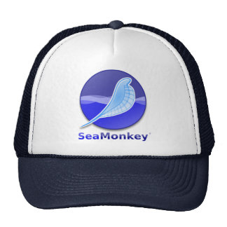 SeaMonkey Text Logo Trucker Hat