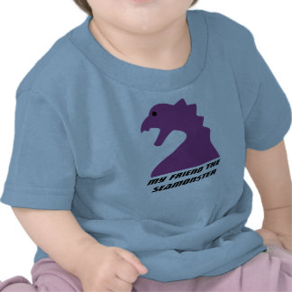 Seamonster Meeple - My friend the Seamonster baby Shirts