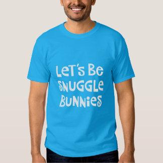 Seamos conejitos del Snuggle Polera