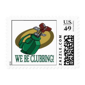 Seamos ir de discotecas timbre postal