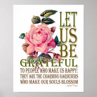 Seamos rosa del Agradecido-Rosa - poster 2