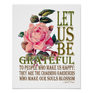 Seamos rosa del Agradecido-Rosa - poster 2 Póster