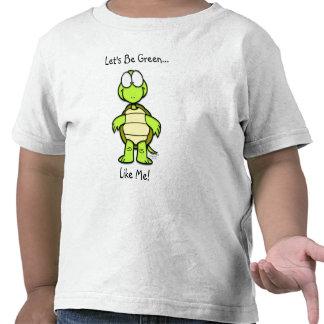 ¡Seamos verdes como mí! Camiseta