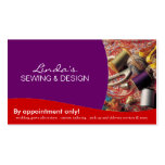 Seamstress ~ Business Card