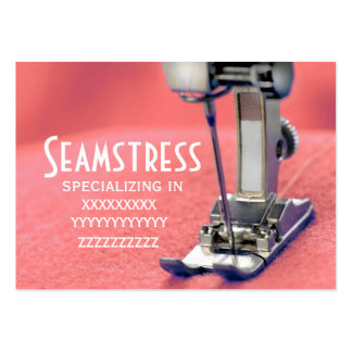 Seamstress Large Business Cards (Pack Of 100)