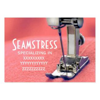 Seamstress Business Card Templates