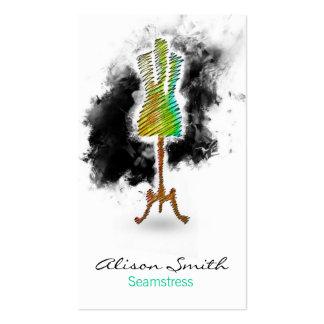 Seamstress business card tarjetas de negocios