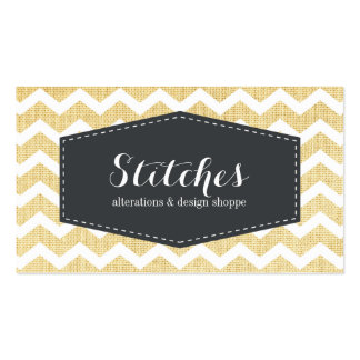 Seamstress Business Card Template