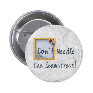Seamstress Button