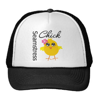 Seamstress Chick Trucker Hat