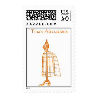 Seamstress Postage Stamp