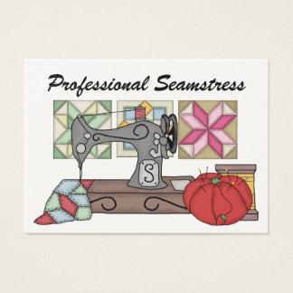 Seamstress / Sewing - SRF Business Card
