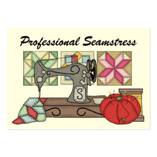 Seamstress Sewing - SRF Business Card Template