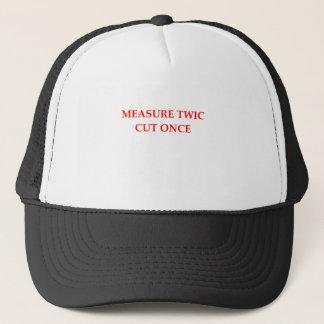 SEAMSTRESS TRUCKER HAT