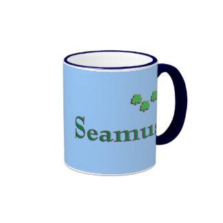 Seamus Irish Name Ringer Coffee Mug