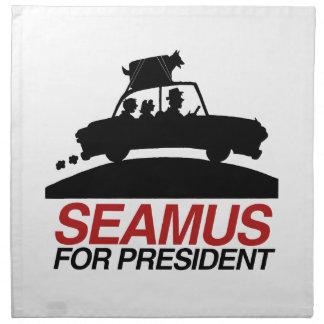 Seamus para President.png Servilletas De Papel