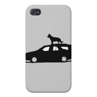 Seamus the Dog.png iPhone 4 Cover