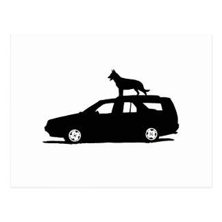 Seamus the Dog.png Postcard