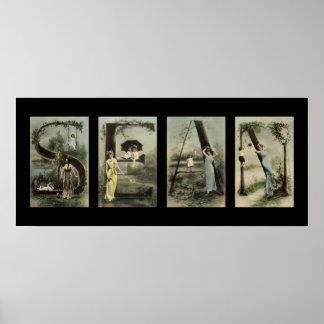SEAN Alphabet Letter Name Art Print