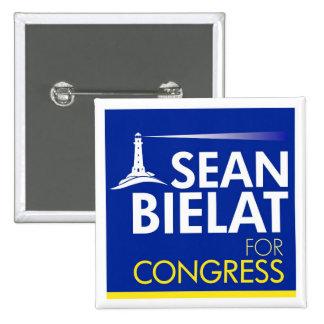 Sean Bielat for Congress Large Letter Button