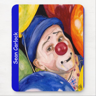 Sean Carlock Clown Mouse Pads