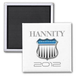 Sean Hannity 2012 2 Inch Square Magnet