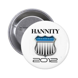 Sean Hannity 2012 Pinback Buttons