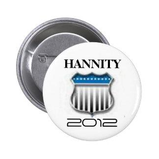 Sean Hannity 2012 Button