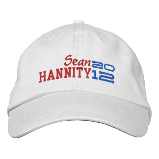 Sean Hannity para el presidente 2012 Gorra De Béisbol
