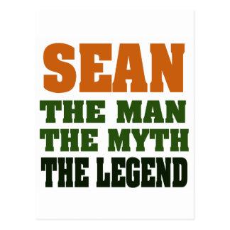 SEAN - the Man, the Myth, the Legend Postcard