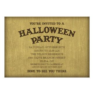 Séance Board Halloween Séance Party Invitation