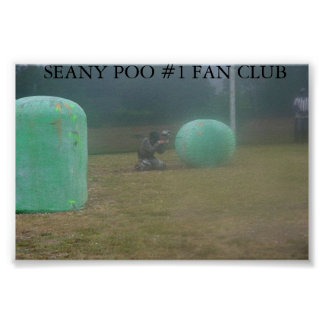 SEANY POO POSTER