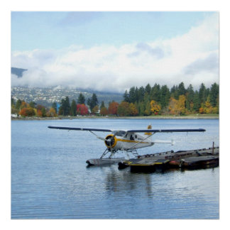 Seaplane at Vancouver Poster