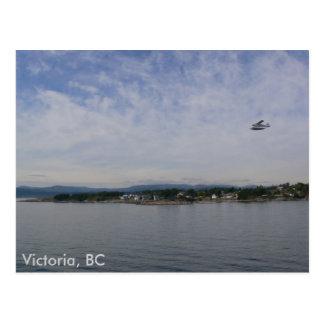 Seaplane Over Victoria, BC Postcard