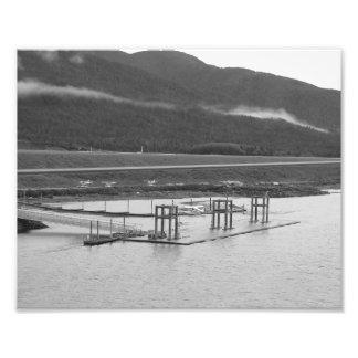 seaplane photo print