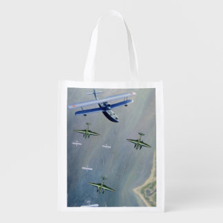 Seaplanes, 1933 reusable grocery bags