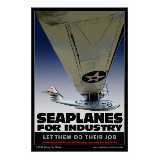 Seaplanes For Industry poster