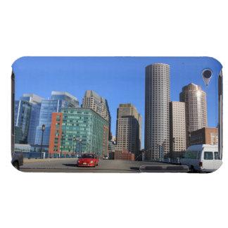 Seaport Blvd bridge and Boston skyline.Boston is iPod Case-Mate Case