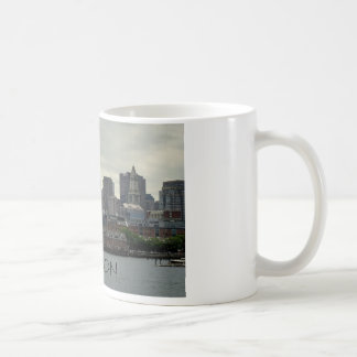 SEAPORT OF BOSTON HARBOR COFFEE MUG